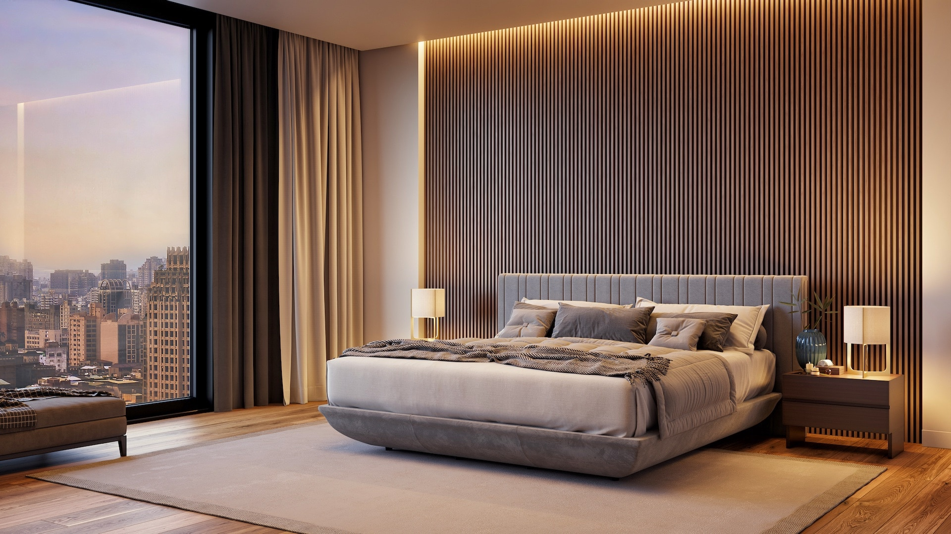 FreshBed iFo in Armani style room